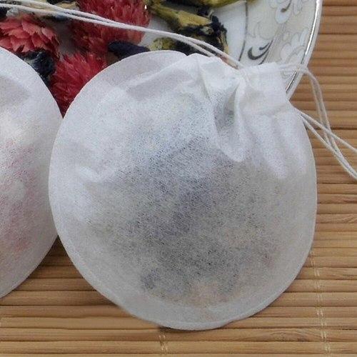 200 Pcs Paper Tea Bags Drawstring Spices Bag Herbs Decocting Bags Tea Infuser