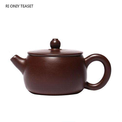 110ml Yixing Boutique Purple Clay Teapots Master Handmade Tea Pot Beauty Kettle Raw Ore Purple Mud Tea Set Customized Gifts