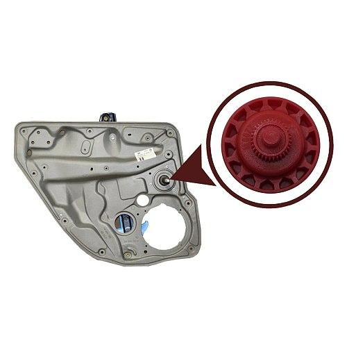 Free Shipping Auto Parts Manual Rear Window Regulator Lifter Inner Gear 1J4839729J, 6Q4839462 For VW Volkswagen Golf 4 Bora Polo