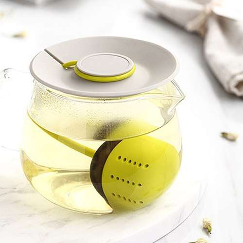 Simple Silicone Tea Bag Tea Infuser Silicone Strainer Tool Leaf Herbal Spice Filter Diffuser Brewing Device Teapot Kitchen Tool