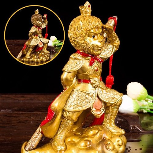 Resin Handcrafted Gift Gold Toad Color Change Tea Pet Chinese Tea Set Creative Brave Troops Decoration Tea Room Lucky Ornament