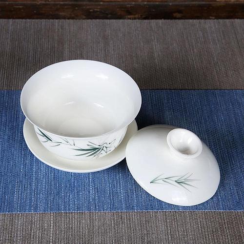 1 Pcs Gaiwan Set Chinese Kung Fu Teaware Sets China Tea Set Ceramic Teapot Teaset Gaiwan Tea Cups Of Tea Ceremony Tea Tureen