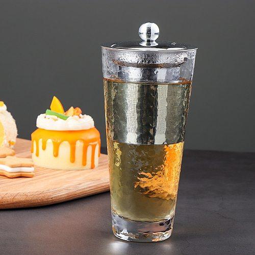 Reusable Stainless Steel Tea Strainer Fine Mesh Infuser Basket Loose Tea Leaf Coffee Infusers Herb Filter for Mug Teapot Teaware