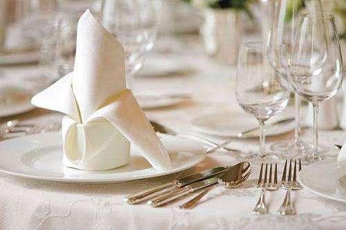 50cm*50cm white cotton napkin 100pcs ship to Sweden