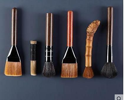 pot brush tea brush  tool cleaning sweeping brush tea ceremony accessories