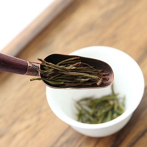 Easy Clean Accessories Dinning Metal Tea Spoon Gift Wooden Handle Tableware Coffee Scoops Multipurpose Household Anti Sprinkle