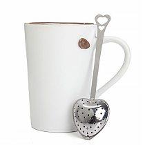 Stainless Steel Tea Strainers Heart Shape Tea Balls Tea Herb Spice Infuser Spoon Filter Tea Brewer Coffee Scoop Tea Infuser Tea