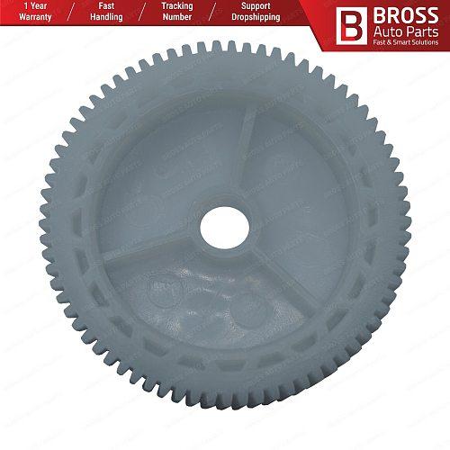 Bross BWR5272 Power Window Regulator Window Lifter Motor Roll Inner Gear for VW Passat B6 B7 Teeth Number: 73,Diameter: 61.40 mm