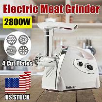 2800W Electric Meat Mincer Grinder Sausage Maker Mincer Stuffer Mincing Machine