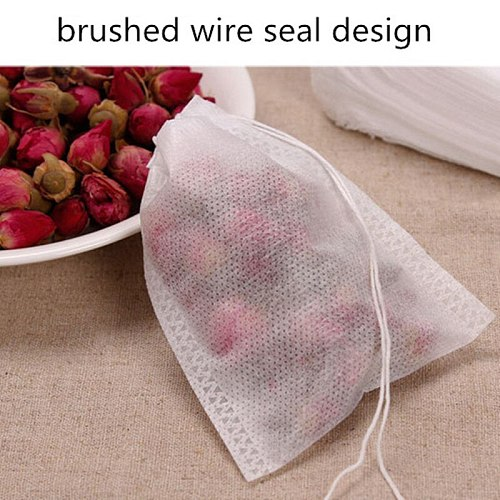 Teabags  Food Grade  Empty Scented Tea Bags Infuser With String Heal Seal Filter Paper for Herb Loose Tea Bolsas