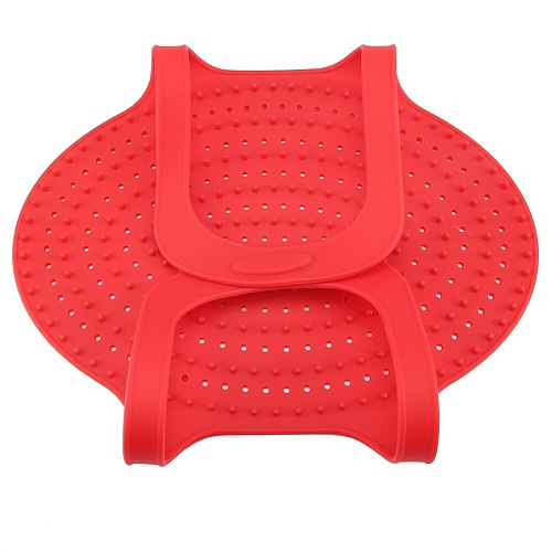 Multi-purpose Food Grade Silicone Heat Resistant Turkey Lifter Non Stick Poultry Cooking Mat Heat resistant and anti-scald