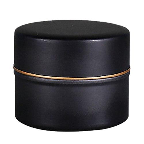 Mini Tea Can Travel Portable Flower Tea Packaging Sealed Cans Metal Trumpet Creative Black Tea Small Tea Cans Tin Box #5