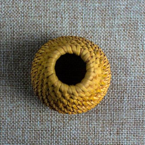 Rattan Teapot Lid Holder Tea Pet Tea Accessories Ornament Home Decor