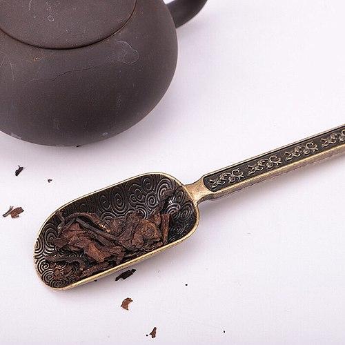 Buy it! 2021 NEW  Chinese Tea spoons Copper Tea Scoop Spoon Tea Leaves Chooser Holder Chinese Kongfu Tea Tools Accessories
