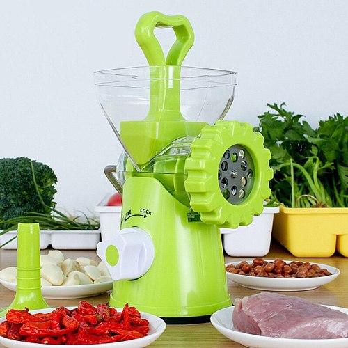 Multi-functional Manual Vegetable Grinder Food Masher Chopper Sausage Stuffer Beef Meat Mincer Kitchen Tool Processors