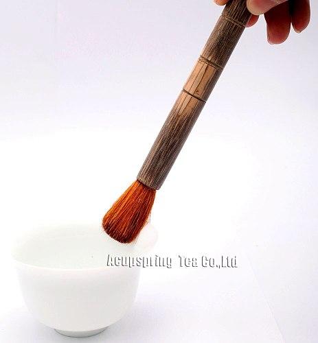 Wood Tea Brush,zen tea ceremony accessories/utensils,teaset,For making Chinese Black/white/puer/green/oolong tea,+Secret gift
