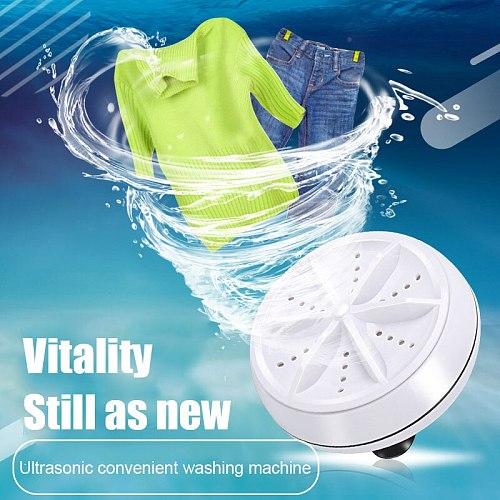 Portable Ultrasonic Washing Machines for Bowls Clothes Glasses Fruits Vegetables Tea Sets LAD-sale
