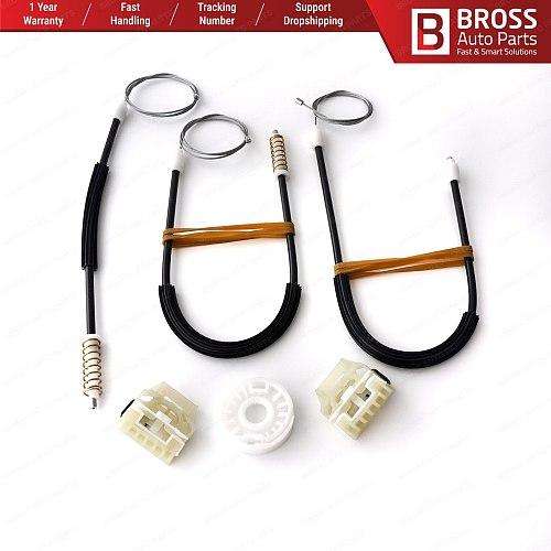 BWR5389 Electrical Power Window Regulator Lifter Repair Kit Front Right or Left Door 1M0837756 for Seat Leon MK1 98-04 4/5 Door