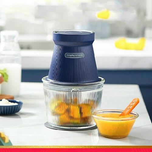 Wireless Electric Meat Grinder Vegetable Stuffer Multi Function Glass Meat Grinder Tools Vleesmolen Home Garden DG50MG