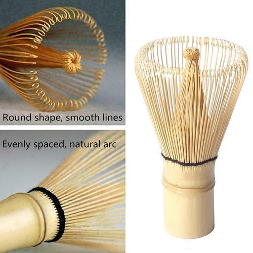 Quality Japanese Bamboo Matcha Whisk Brush Professional Powder Green Tea Tool Bamboo Ceremony Brush Tea Grinder Whisk J3K6