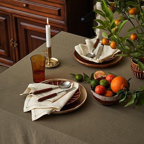 Miss Cadira table napkin cotton tea towel vintage wedding napkins restaurtant supplies