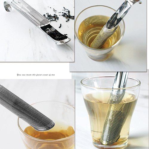 Kitchen Accessories Hangable Design Tea Strainer 304 Stainless Steel Tea Infuser Portable Tea Filter Teaware For Making Tea
