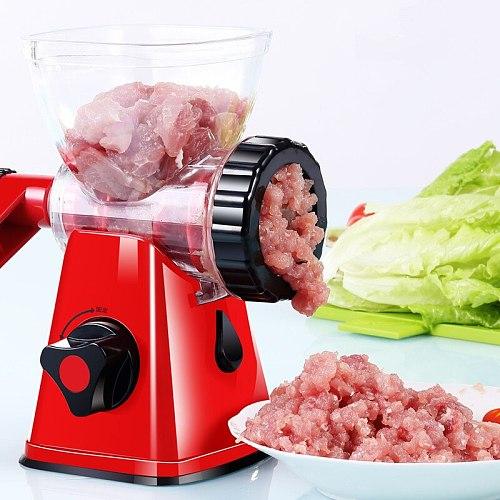 Multifunction Hand Meat Grinder Food Enema Machine Manual Grinder Sausage Filler Kitchen Artifact Cozinha Home Garden DH50JRJ