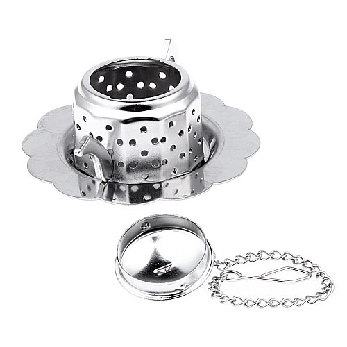 1pc Cute Tea Infuser Teapot Stainless Steel  Shape Tea Leaf Spice Strainer Mesh Filter Tea Strainer Teaware Tools Accessories