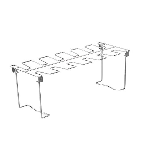 BBQ Beef Chicken Leg Wing Grill Rack 12 Slots Stainless Steel Barbecue Drumsticks Holder Smoker Oven Roaster Stand #36
