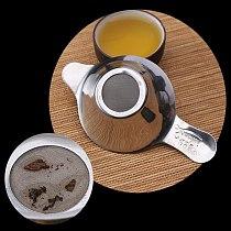 1pc Creative 304 Stainless Steel Tea Infuser Leak Double Ear Duckbill Type Tea Leak Coffee Tea Strainer Kitchen Tea Accessory