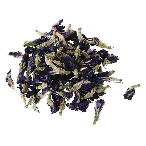 50g/Bag Thailand Blue Butterfly Pea-Tea 100% Original Detox Tea Pure Natural Dried Pea Flower-Tea Simulation Kitchen Toy