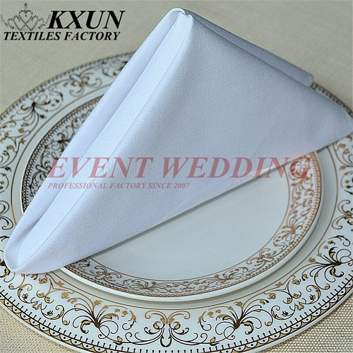 Good Quality 100% Cotton Napkin Table Cloth Napkins For Wedding Event Party Decoration