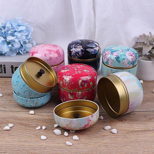 Japanese style Kitchen Tea Box Jar Storage Holder Sweetmeats Candies Cans Teaware Tea Caddies tin containers storage box