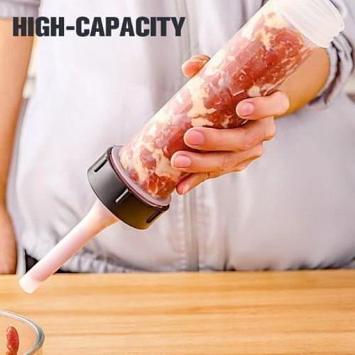 Newest sausage stuffer hand food grade sausage stuffer household manual sausage filling machine homemade sausage tools