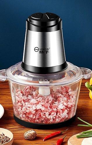 Electric Professional Meat Grinder Home Stuffer Mini Food Processor Meat Mincer Vegetable Grinder Cocina Household Products DH50