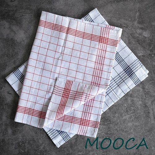 Blue and red Gingham Checkered Plaid kitchen napkin kitchen towel decorative cloth cotton 40x60cm 5pcs