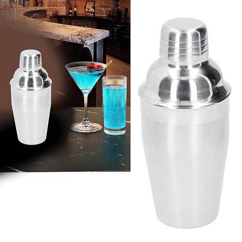 stainless steel straws 350ml Cocktail Shaker Stainless Steel Wine Drink Mixing Glasses Barware Bartender Tool reusable straws