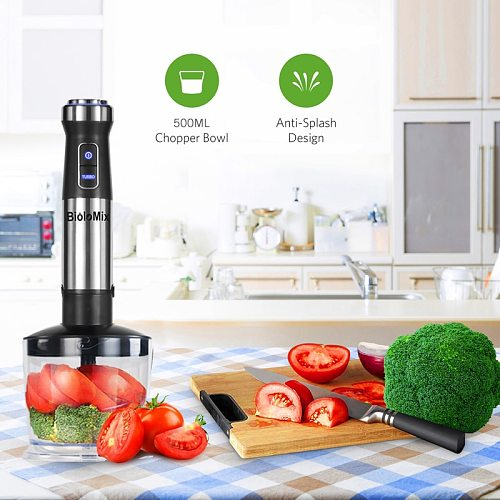 Multi functional Stainless Steel Portable Electric food hand blender juicers mixer kitchen detachable egg beater food processor