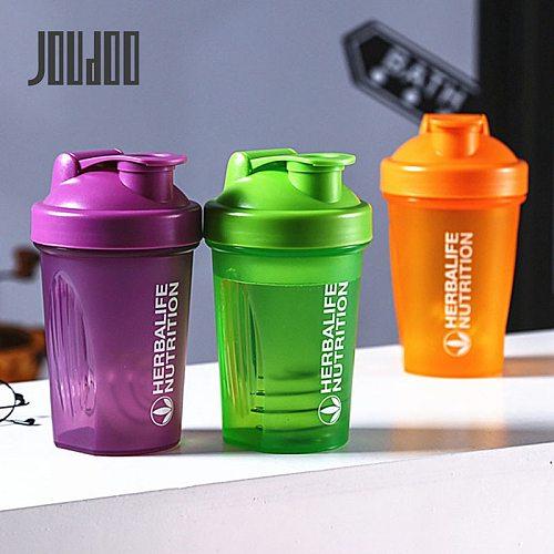 Protein Shaker Bottle For Drink 500ml Leak Proof Drink Herbalife Bottle Plastic Sports Outdoor Travel Water Bottle Drinkware