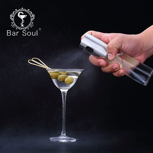 Bar Soul Cocktail Flavoring Bottle Spary Bottle Seasoning Bottle Acrylic Airbag Style Professional Bartender Tools Bar Tools