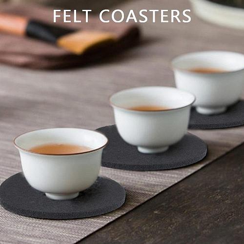 Insulation Mug Mat Filzuntersetzer Thermal Cup Mat Fashion Beautiful Diatomite Square Kitchen Accessories cocina accesorio