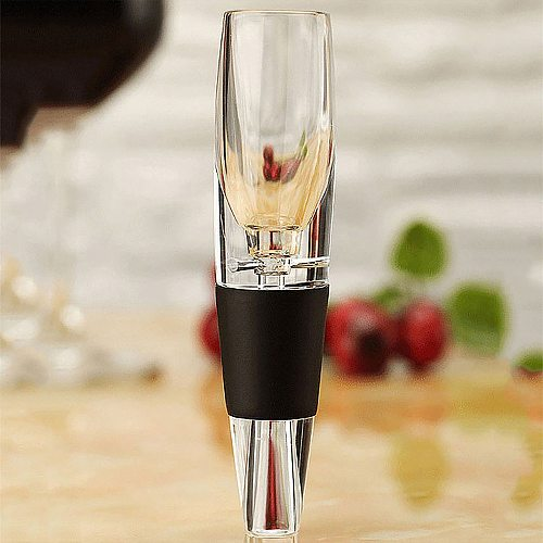 Hot sell NEW Red Wine Aerator Mini Filter Magic Essential Wine Quick Aerator Wine Hopper Filter bar Essential Equipment Set