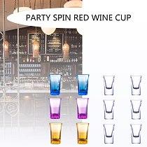 5 Shot Glass Dispenser Holder Caddy Carrier Liquor Dispenser Party Beverage Drinking Games Bar Cocktail Wine Quick Filling Tool
