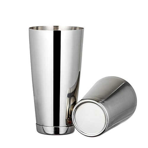 Hot sell Stainless steel Professional bartender bar tools Cocktail shaker Tin on Tin