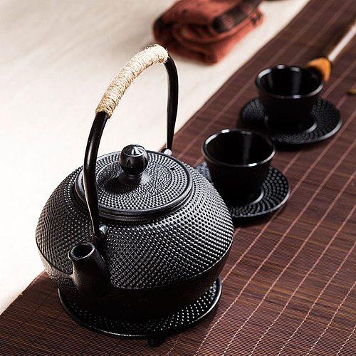 Cast Iron Trivet Stand Heat Resistant Pot Pan Insulation Teapot Mats Trivet Pad Coaster Teaware Tea Accessories Kitchen Teaware