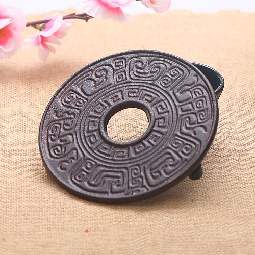 Free shipping Riches and honour flowers style cast iron teapot holder, teapot trivets