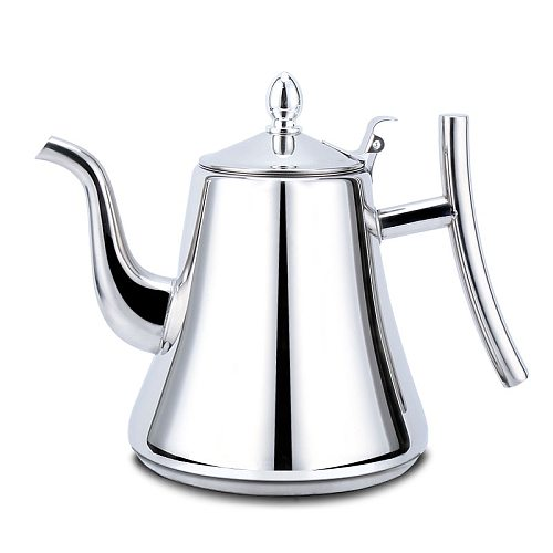 XINCHEN 2020Stainless Steel Teapot with Filter Hotel Restaurant Hotel Home Induction Cooker Long Mouth Large Capacity Teapot