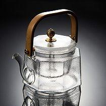 2020 Octagonal Hammered Beam Teapot Heat-resistant Glass Teapot Anti-slip Beautiful Matte Process Electric Ceramic Stove 800ml