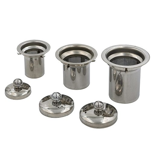 Reusable Stainless Steel Tea Strainer Mesh Infuser Basket Loose Tea Leaf Infusers Herb Filter for Mug Teapot Teaware