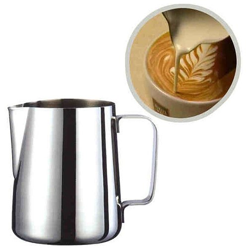 Hot Sale Stainless Steel Frothing Pitcher Pull Flower Cup Espresso Cups Cappuccino Coffee Milk Mugs Milk Frothers & Latte Art